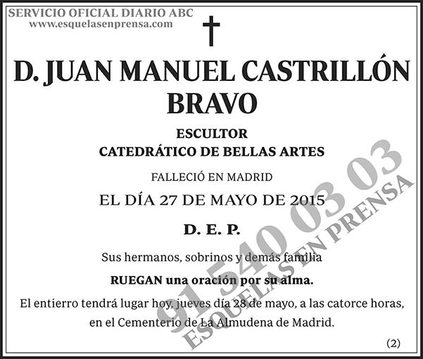 Juan Manuel Castrillón Bravo